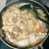 ちゃんこ鍋を作る