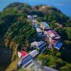 ミニチュア風写真『続・江ノ島~江ノ島シーキャンドルで空中散歩編~』