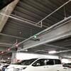 コストコ神戸駐車場の立体駐車場 緑、赤色に点灯していた!知ってると得するかも?