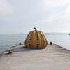 黄色いカボチャの瀬戸内のアートな島「直島」