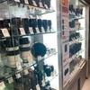 新宿にこんなに種類あるカメラのレンズの中古店があるなんて✨
