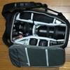 新しく買ったカメラバッグ