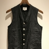 HAVERSACK hs equipment LINEN VEST ~松屋銀座~