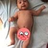 乳児期回想記①④ 2m1d. 裸ん坊の記念撮影
