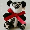 【iichi出品のお知らせ】定番商品第1弾 総刺しこぎんクマ パンダ