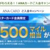 【期間限定】大きめのキャンペーンが開催されているので、思い切ってANA VISA ワイドゴールドカードに申し込みしてみた(2017年4月30日まで)