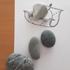 「一気にヒヤッホゥする 象の雑巾がけ」糸魚川ピクチャーストーン(紋様石)vol.72