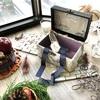 【カルトナージュ】11月・12月Monthlyレッスン・ぷっくりとしたバッグ型のBox