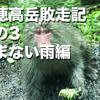 北穂高岳敗走記 その3  止まない雨編