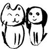 犬猫の絵・1