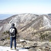 3/17 2人で残雪の浅間山・黒斑山へ雪山ハイキング