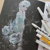 塗り絵本紹介】アートぬりえFROZEN『アナと雪の女王』レビュー&塗ってみました☆