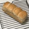 小麦胚芽パン、ドリアとポテトスープとツナキャベツ