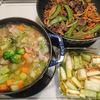 【今週の常備菜】野菜の和風ミネストローネ、五目きんぴら、長ねぎのマリネetc...(2017/1/15)