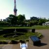 タスクの情報共有に感謝! 東京タワーとミニリュウ【ポケモンGO】2018年4月の思い出写真・その2