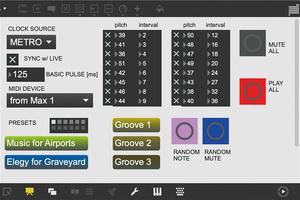 Maxで作る自分専用パッチ - Patch43 〜異なる周期でループする音によるアンサンブル