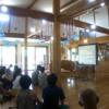 保育園で、講演会