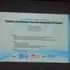 第11回ウランバートル国際シンポジウムで研究報告を行いました