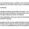 オーストラリアBridgingVisaBの申請を自分でやってみる(1)