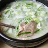 【釜山グルメ】テジクッパ... 海雲台・수백한상(スベクハンサン)で臭みの無いスープを味わう