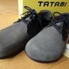 撈餅な革靴。
