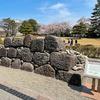 【金沢城めぐり】鶴の丸休憩間の前には石垣の基本の積み方がわかる展示模型がありますよ