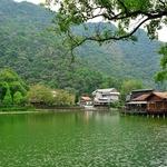 「車埕 Checheng)駅」周辺~貯木池、車埕木業展示館、老街とか僅かな時間で廻れます。