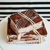 【お知らせ】と【スイーツづくり】オレンジ&チョコのスクエアーケーキ/เค้ก/Chocolate Cake with Orange