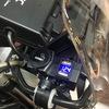バイク用USB電源 充電器 電源ソケットを設置する