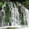 雨の元滝にて