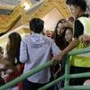 チャナティップの札幌での会見とタイ人女優の彼女。