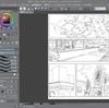 漫画模写 イラスト練習
