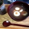 小豆を煮る