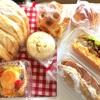 グリーンピースのスープ、空振り朝市、パン屋さんポポラーレ