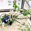 Seasonal Artificial Flower アレンジメントレッスン ~ 初夏・夏 ② ~ デニムFlower&ホワイトベゴニア