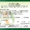 東京二期会オペラ劇場『ルル(Lulu)』延期公演チケット届く