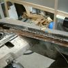 1971 マスタングマッハ1 左クォーターフレームの修復1