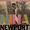 NINA AT NEWPORT/NINA SIMONE