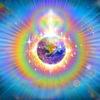 地球エネルギーグリッド浄化の視覚化イメージ