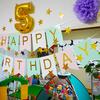 特別な誕生日パーティー!【お家キャンプの飾り付け】