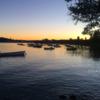 アヌシー湖まで散歩。