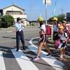夏の交通安全運動 1年生公園探検