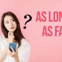 【条件or範囲】「as long as」と「as far as」の使い分け!