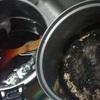 目覚めに、良い香りが漂った後、焦げの臭いに変わりました。