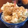 天丼てんや『西京風銀ダラと白身天丼』一つの丼でたくさんの種類の天ぷらが食えるのが非常にいい!!西京風銀ダラの脂のノリっぷりもなかなかだ!!