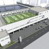 #380 建設される配送センター屋上に運動場 中央区豊海町