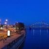 ブルーモーメント②:紺に深まるリガの街