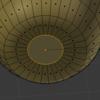 Subdivision Surface することで底面にできてしまったナミナミを解決する #BlenderPractice