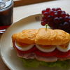 COMOパンのサンドイッチの献立