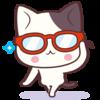 2021福猫便り  帰ってきた眼鏡